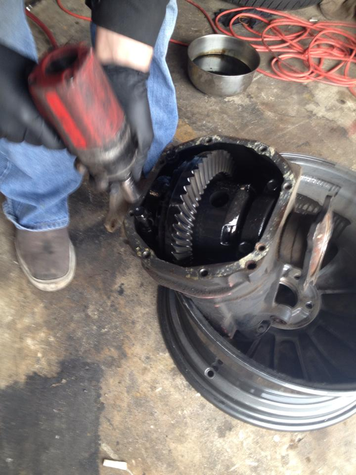 HOW TO GUIDE FOR SHIMMING A R200V DIFFERENTIAL (S13,S14,R32,R33, etc